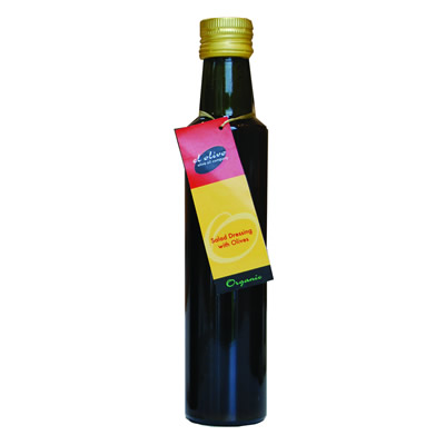 Organic Salad Dressing with Olives