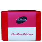 Organic Olive Oil Soap (Red)