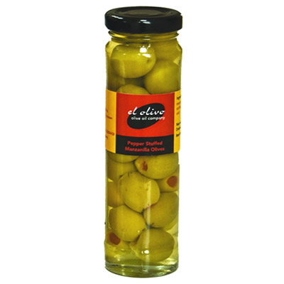 Peppers Stuffed Manzanilla Olives